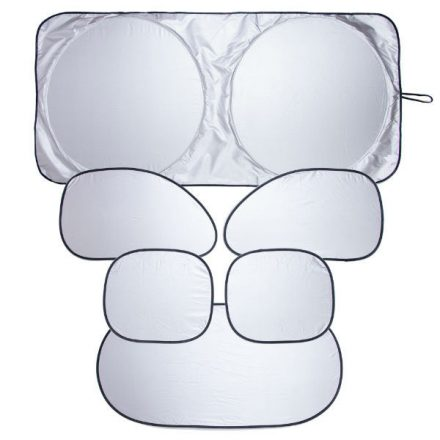 Összehajtható napvédő, 150x70 cm (KC)