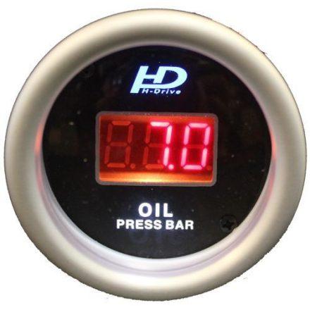 Kiegészítő műszer-Digitális olajnyomás mérő