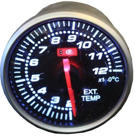 SELF-CHECK OR-LED2708 kipufogógáz hőmérsékletmérő fehér háttérvilágítással