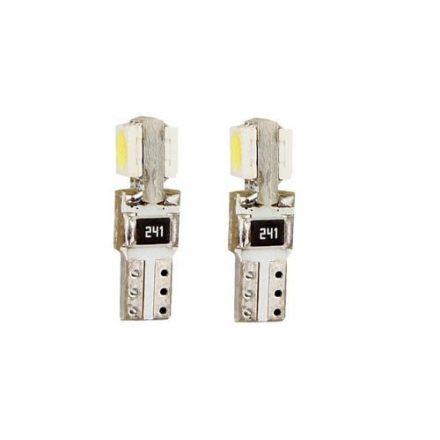 T5 canbus fehér műszerfal LED izzó SMD-T5/2SMD/5050/58255