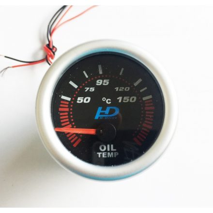 Fekete számlap olajhőmérséklet OR-LED7703BK