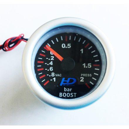 Fekete számlap OR-LED7707BK turbónyomás mérő