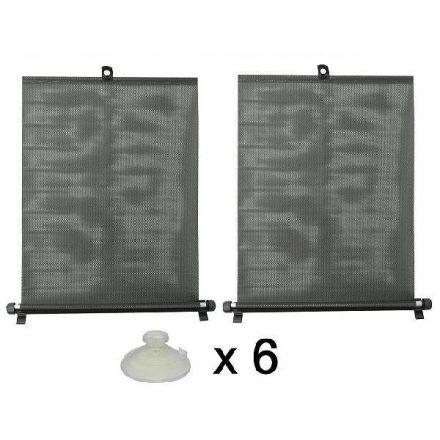 Napvédő roló 2x50cm, tapadókorongokkal (CC61004)