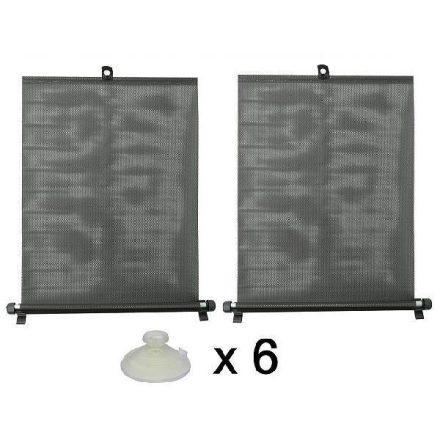 Napvédő roló 2x55cm, tapadókorongokkal (CC61250 CC61005)