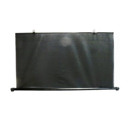 Napvédő roló, hátsó, 100cm, fekete