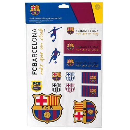 Felragasztható matrica, A4, FC Barcelona