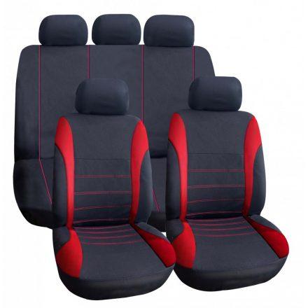 Univerzális üléshuzat UL-TY1842BK/R piros -fekete