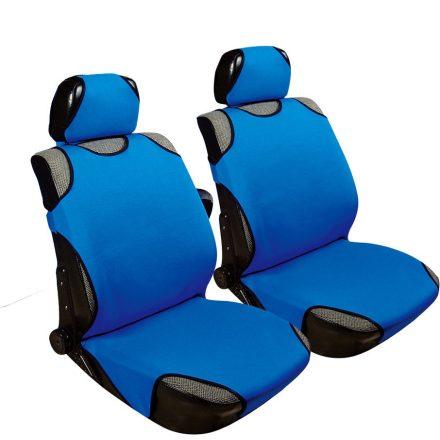 2db-os Trikó üléshuzat kék szivacsos anyag UL-AG23087BL
