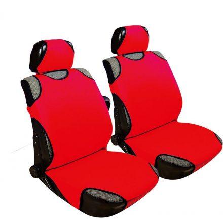 2db-os Trikó üléshuzat piros szivacsos anyag UL-AG23087R