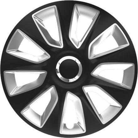 """Dísztárcsa 17"""" Stratos Ring Chrome Black & Silver"""